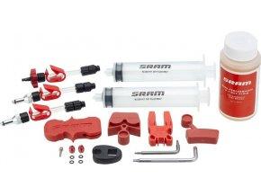 SRAM standardní odvzdušňovací sada včetně brzdové kapaliny DOT 5.1