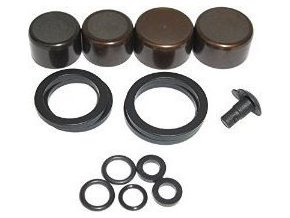 Caliper Piston Kit - Guide Ultimate (includes 2-16mm & 2-14mm Aluminum caliper pistons
