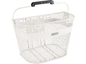 Košík bez rychloupínáku - bílý / Basket Linear for Quick Release (not included) White