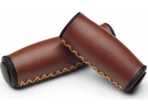 Gripy ERGO - 1 long, 1 short - vintage brown