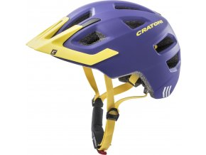 Cratoni MAXSTER PRO | purple-yellow matt