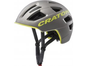 Cratoni C-PURE | anthracite-lime matt