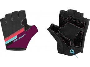 Purple Short Gloves