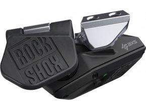Sedlovka REVERB AXS 31.6mm 100mm zdvih (součástí balení objímka, ovl.páčka, bateria a nabí