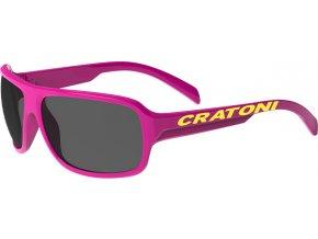 Dětské brýle Cratoni C-Ice Jr. pink glossy