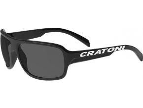 Dětské brýle Cratoni C-Ice Jr. black glossy