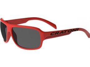 Dětské brýle Cratoni C-Ice Jr. red glossy
