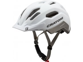 Cratoni C-CLASSIC - white-anthracite matt