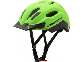 Cratoni C-CLASSIC - neongreen-black matt