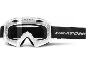 Brýle Cratoni C-Rage white glossy