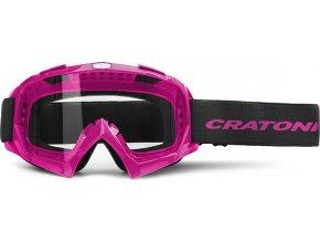 Cratoni Brýle Craotni C-Rage pink glossy
