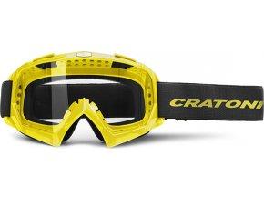 Cratoni Brýle Craotni C-Rage neonově žlutá lesklá