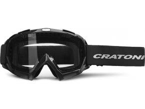 Cratoni Brýle Craotni C-Rage black glossy