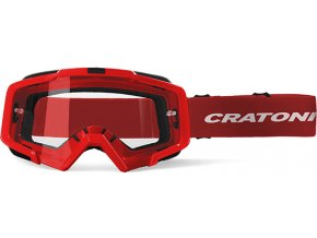 Brýle Cratoni C-Dirttrack red matt