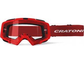 Brýle Cratoni C-Dirttrack red matt