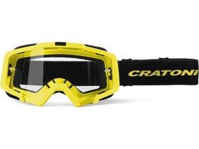 Brýle Cratoni C-Dirttrack neonově žlutá matná