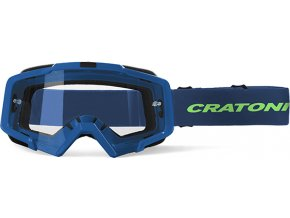 Brýle Cratoni C-Dirttrack blue matt
