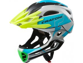 Cratoni C-MANIAC Pro - grey-blue matt