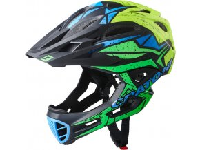 Cratoni C-MANIAC Pro - black-lime-yellow matt