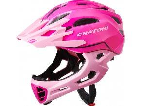 Cratoni C-MANIAC - pink-rose glossy