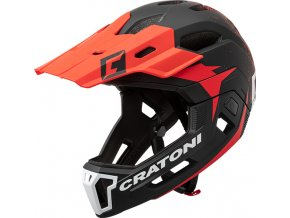 Cratoni C-MANIAC 2.0 MX - black-red matt