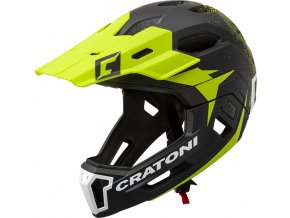 Cratoni C-MANIAC 2.0 MX - black-lime matt