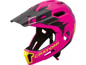 Cratoni C-MANIAC 2.0 MX - pink-black matt