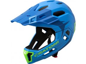 Cratoni C-MANIAC 2.0 MX - blue-lime matt
