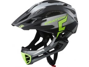 Cratoni C-MANIAC Pro - black-lime matt