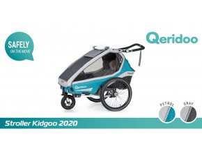 Kidgoo1 Pro - Petrol Blue