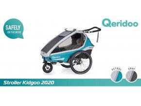 Kidgoo2 - Petrol Blue