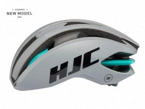 Helma HJC IBEX 2.0 matt glossy grey mint