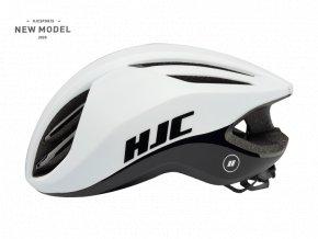 Helma HJC ATARA matt glossy white
