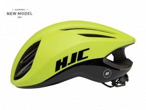 Helma HJC ATARA matt glossy neon green