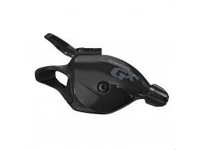 Řadící páčka SRAM GX-E Trigger 11ti rychlostní, zadní se samostatnou objímkou v černé barv