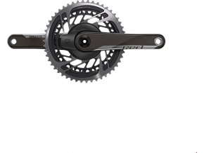 SRAM Red D1 Quarq Road Powermeter DUB 175 - 50-37 Yaw (BB not included)