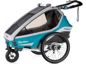 Qeridoo Kidgoo1 Sport 2020 - Petrol Blue
