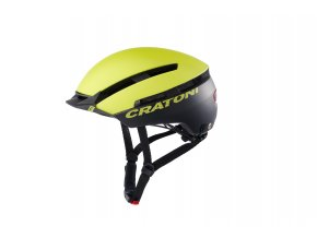 Cratoni C-LOOM - lime-black matt