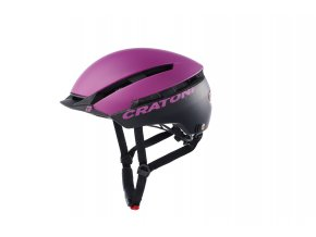 Cratoni C-LOOM - purple-black matt