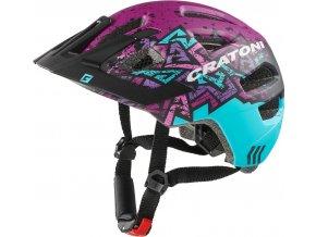 Cratoni MAXSTER PRO - blue-pink matt - Copy