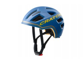 Cratoni C-PURE - blue-gold matt