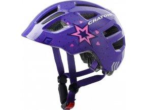 Cratoni MAXSTER - star purple glossy
