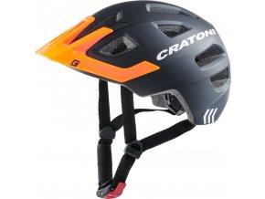 Cratoni MAXSTER PRO - black-orange matt