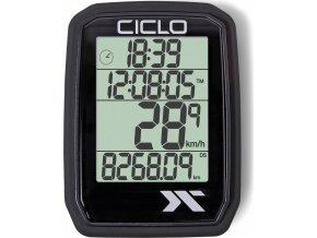 Tachometr CicloSport PROTOS 105 - drátový 7 f