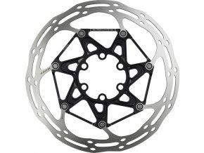 Kotouč SRAM Centerline 2 Piece 180mm Black (součástí balení ocelové šrouby) Rounded