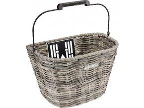 Košík přední plastový QR