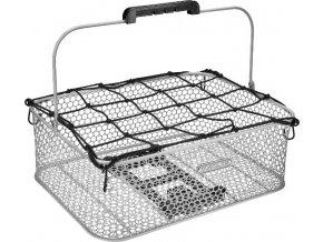 Košík nízký Honeycomb MIK se síťkou - Fog Grey