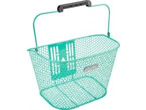 Košík přední Honeycomb QR - Mint Green