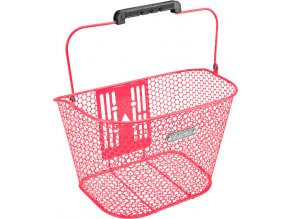 Košík přední Honeycomb QR - Hot Pink