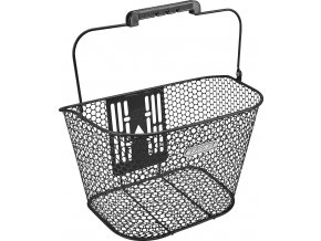 Košík přední Honeycomb QR - Black